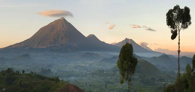 Uganda landscape photography